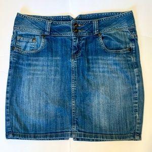 GUESS 5 pocket Jean Pencil skirt Size 29
